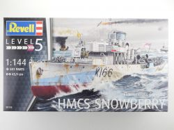 Revell 05132 HMCS Snowberry Flower Class Corvette 1:144 NEU! OVP