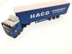 Herpa 259255 MAN TGA XL Spedition HACO Wuppertal SZ 1:87 TOP