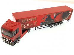 Herpa 148085 MB Actros LH Gardinenplanen SZ Chantre Rouge TOP