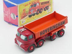 Matchbox K-1 King Size Foden Tipper Truck Hoveringham Box OVP