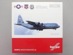 Herpa 559461 Lockheed Martin C-130J Super Hercules US Airforce OVP