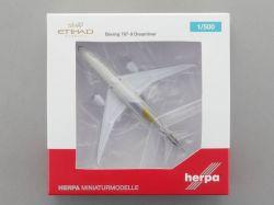 Herpa 527781-002 Boeing 787-9 Dreamliner Etihad A6-BLF 1:500 OVP