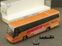 Rietze 61612 Volvo B12 600 Merz Reisebus Gnadenberg OVP