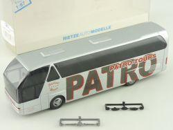 Rietze 62033 Neoplan Bus Patro Tours St.Niklaas Belgien NEU  OVP SG