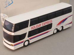 Rietze 60267 Setra S 328 DT Bus Holiday Express Belgien NEU! OVP SG
