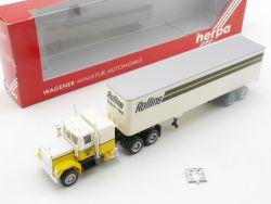 Herpa 851000 GMC US Truck Rollins LKW Sattelzug SZ  OVP