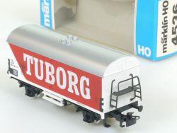 Märklin 4536 Gedeckter Güterwagen Bierwagen Tuborg Dänemark DSB OVP
