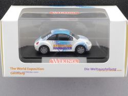 Wiking 0350435 VW New Beetle SoMo EXPO 2000 Hannover PC NEU! OVP
