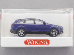 Wiking 1330130 Audi Q7 SUV kobaltblau PKW 1:87 H0 NEU! OVP