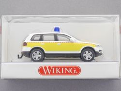 Wiking 0711132 Rettungsfahrzeug - VW Touareg 1:87 H0 NEU! OVP