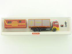 Wiking 6250243 MAN TGA 26.480 Feuerwehr Set Atemschutz NEU! OVP