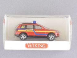 Wiking 6011133 Volkswagen VW Touareg Feuerwehr Blaulicht NEU OVP