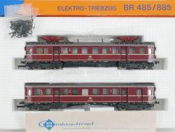 Roco 04148 A Elektro-Triebwagen BR 485 885 ET 85 Beleuchtung OVP