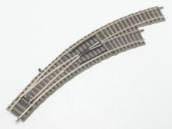 Fleischmann 6175 W 6142 R 1x Bogenweiche rechts Profi-Gleis