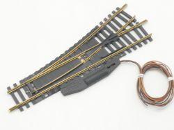 Fleischmann 6072 E-Weiche links 6044 L 6421 Modellgleis