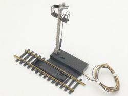 Fleischmann 6013 Entkupplungsgleis Signal Modellgleis H0 TOP ST