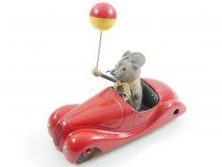 Schuco 2005 Sonny US-Zone Uhrwerk Maus Blechspielzeug Figur