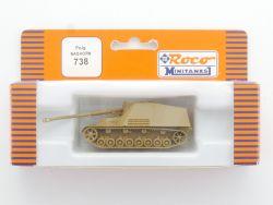 Roco 738 Minitanks Nashorn Jagdpanzer 8.8ca PAK Sd.Kfz.164 NEU OVP