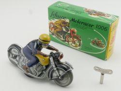 Schuco 01730 1006 Motoracer Blech Motorrad Post Uhrwerk OVP