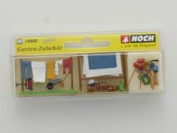 Noch 14800 Garten-Zubehör Modellbahn Figuren Premium H0 1:87 OVP
