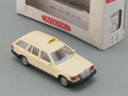 Wiking 14901 Taxi MB Mercedes 230 TE Modellauto 1:87 NEU! OVP