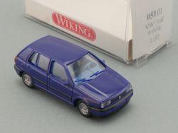 Wiking 05101 VW Volkswagen Golf GL blau 4-türig PKW NEU! OVP