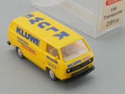 Wiking 29120 Volkswagen VW Transporter T3 Bus Kluwe NEU! OVP