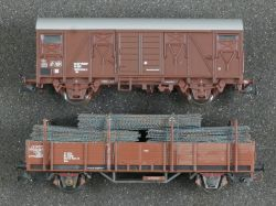 Klein Modellbahn Roco Konvolut 2x Güterwagen ÖBB 3042 u.a.