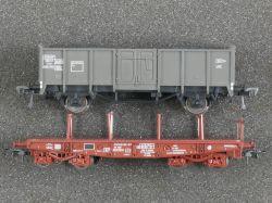 Roco Fleischmann Konvolut 2x Güterwagen SNCF 46380 u.a. SSy