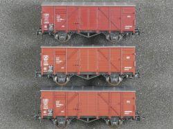 Roco Konvolut 3x Gedeckter Güterwagen 4301 u.a. DB TOP!