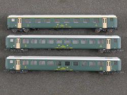 Roco Konvolut 3x Personenwagen 4238 4239 BLS Schweiz KKK TOP