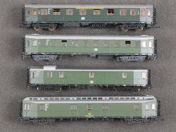 Roco Konvolut 4x Hechtwagen 44450 4293S 44439 DB