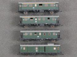 Roco Konvolut 4x Personenwagen Donnerbüchse 4204 4202 4201