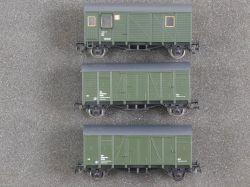Liliput Konvolut 3x ÖBB-Wagen Dienstgutwagen 25310 u.a. DC