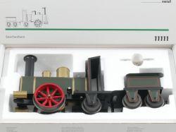 Märklin 11111 Tin Plate Dampflok Storchenbein Uhrwerk Spur 1 OVP
