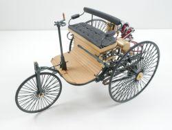 Franklin Mint Benz Patent Motorwagen 1886 1:8 Modellauto TOP