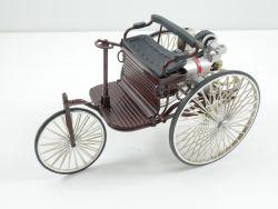 Tischfeuerzeug Benz Patent Motorwagen 1886 Modellauto selten!