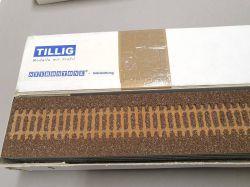 Tillig 86509 8x H0-FG 900mm Gleisbettung dunkel Styrostone OVP