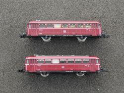 Arnold 2911 2912 Schienenbus Steuerwagen Beiwagen VB VS 98