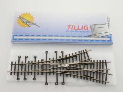 Tillig 82230 Dreiwegeweiche H0-Standard Neusilber NEU! OVP ST