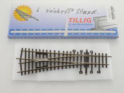 Tillig/Pilz 82322 Weiche links 15 Grad H0-Standard NEU! OVP ST