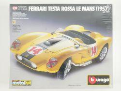 Bburago 7007 Ferrari Testa Rossa Le Mans 1957 Metal Kit 1/18 OVP