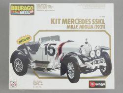 Bburago 7002 Mercedes SSKL Mille Miglia Metal Kit 1/18 NEU! OVP