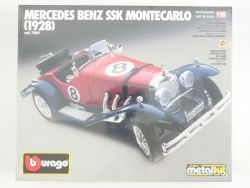 Bburago 7009 Mercedes SSK Monte Carlo Metal Kit 1/18 NEU! OVP