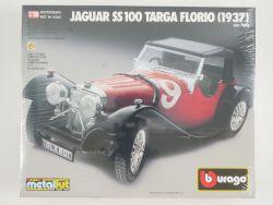 Bburago 7006 Jaguar SS100 Targa Florio 1937 Metal Kit 1/18 OVP