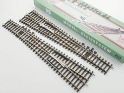 Pilz 82340 Weichenpaar 7,5° H0-Standard Tillig 82342 82341 OVP
