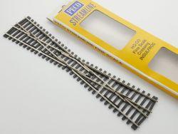Peco SL-194 Kreuzung Gleis Schiene H0-Standard NEU! OVP