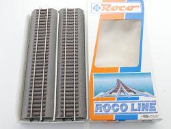 Roco 42510 6x Gerades Gleis G1 Roco Line Bettung H0 NEU! OVP