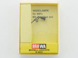 Brawa 4621 Wandlampe Leuchte Modellbahn Spur N NEU OVP