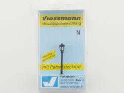 Viessmann 6470 Parklaterne mit Patentsteckfuß Spur N NEU OVP ST